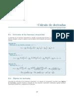 Calculo derivadas y demostraciones