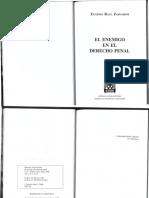 Zaffaroni - El enemigo en Derecho Penal - 2006.pdf
