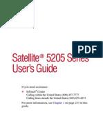 Toshiba Satellite 5205-S705 Manual