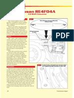 Nissan RE4F04A Supplement