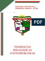 MODULO DE TENDENCIAS PEDAGOGICAS CONTEMPORANEAS