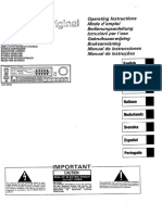 Pioneer-SX-1300-Owners-Manual AMPLIFICADOR
