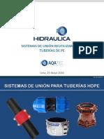 Uniones mecánicas - 25-05