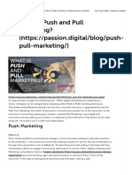 What is Push and Pull Marketing_ _ Passion Digital®