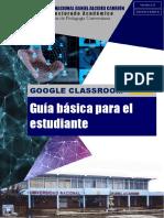 CLASSROOM - Guía básica para el estudiante de la UNDAC v1.0