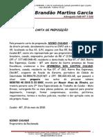 Carta de Preposição