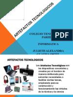 ARTEFACTOS TECNOLOGICOS
