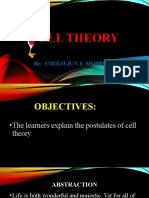 Lesson 1 - Cell Theory