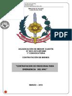Bases Ejército Medicinas AMC