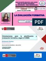 Planificación y Evaluación Formativa