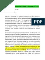 1914 BACTERIAS Y EL DESPERTAR PENSAMIENTOS ESPIRITUALES