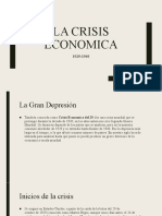 La crisis economica