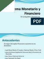 Sistema Monetario y Financiero