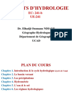 Chapitre1_  INTRODUCTION & CYCLE HYDROLOGIQUE