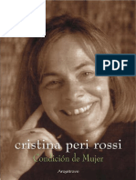 Cristina Peri Rossi - Condicion de Mujer