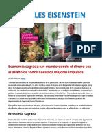 Economia Sagrada Charles Eeisenstein