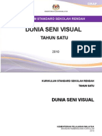 Dokumen Standard KSSR Dunia Seni Visual Tahun 1