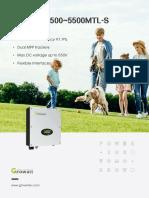 Growatt 2500-5500 MTL-S Datasheet.pdf