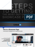 LINKEDIN_4 Steps for Getting... Linkedin Showcase Pages