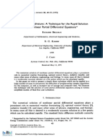(1972) Differential quadrature A technique for the rapid solution of nonlinear partial differential equations