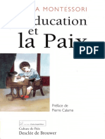 (Collection _Culture de paix.&quot) Montessori, M. - L'éducation et la paix-Desclée de Brouwer (1996).pdf