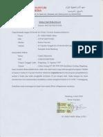 Surat Rekomendasi Chanif