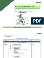 Clasa a 4 a_Planificare calendaristica.docx