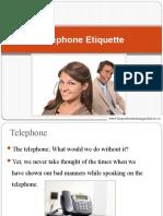 Telephone Etiqutte