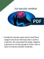 Accidentul vascular cerebral Ignat