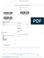 Bulk Barcode Generator