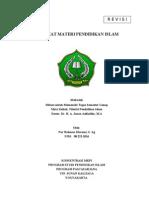 Makalah Hakekat Materi Pendidikan Agama Islam