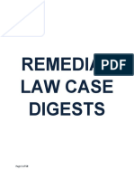 Remedial Law Case Digests Finals