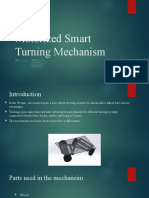 Motorized Smart Turning Mechanism
