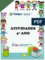 ATIVIDADES 4º ANO