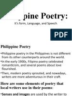 Philippine Poetry