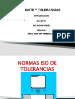 NORMAS ISO DE TOLERANCIAS