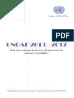 UNDAF_Cameroun_2013_2017