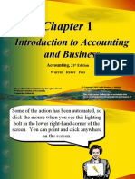 CHAP 1 Introduction to Accounting and Business