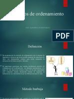 Métodos de ordenamiento.pptx