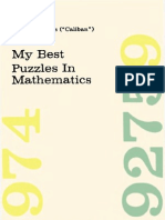 My Best Puzzles in Mathematics - Hubert Phillips