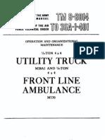M38A1 Maintenance