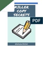 Killer Copy Secrets-V2