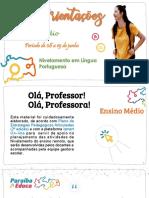 Ensino Médio - LP - 2ª etapa