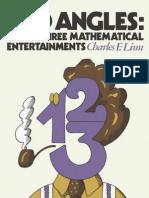 Odd Angles 33 Mathematical Entertainments - Charles F