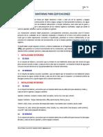 INSTALACIONES SANITARIAS PARA EDIFICACIONES