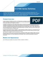 Huawei CloudEngine S12700E Series Switches Datasheet