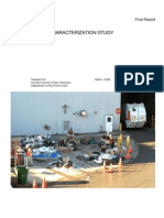 San Francisco  City Waste Characterization Study