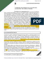 PROCESSO SELETIVO SIMPLIFICADO EMERGENCIAL DA SMS EDITAL Nº 001 2020