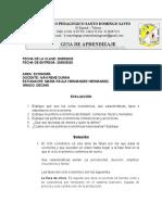 EVALUACIÓN CICLOS ECONÓMICOS - 29 DE MAYO