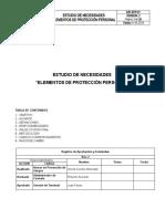 ESTUDIO DE NECESIDADES DE EPP_LOGISTICA FG